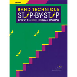 Band Technique Step By Step - F Horn