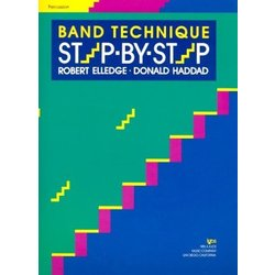 Band Technique Step By Step - Percussion