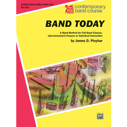 Band Today, Part 1 - Conductor Score (Piano Accomp)