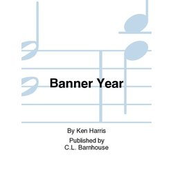Banner Year March - Score & Parts, Grade 2.5