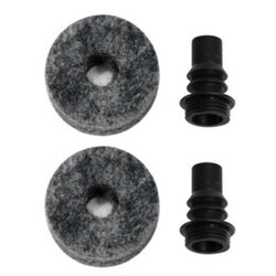 Barbed Cymbal Stem with Felt - 2 Pack