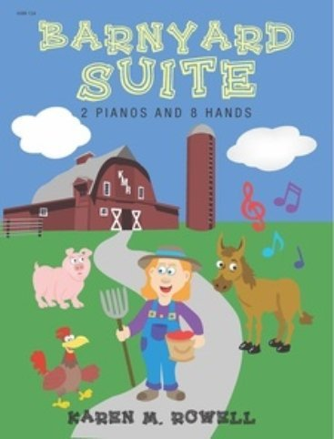View larger image of Barnyard Suite - Piano Duet (2P8H)