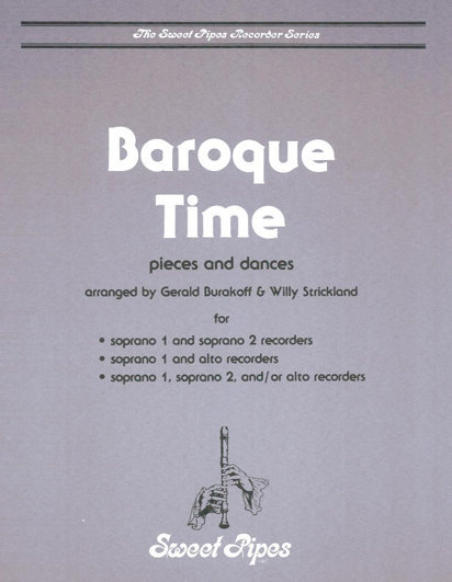 View larger image of Baroque Time - Recorder Duet - (SS / SA / SS/A)