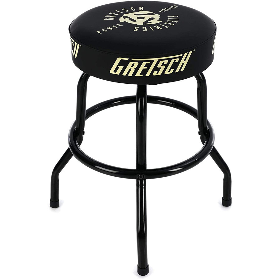 """View larger image of Gretsch Power and Fidelity Logo Barstool - 24"""""""