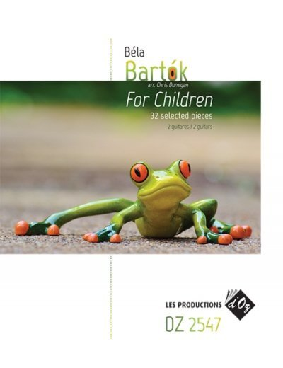 View larger image of Bartok For Children, 32 Selected Pieces (Guitar Duet)