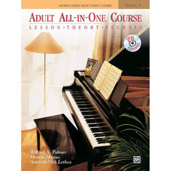 Alfred's Basic Adult All-In-One Course, Book 1 w/CD