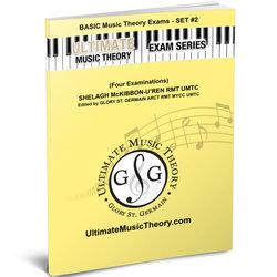 Basic Music Theory Exams Set 2