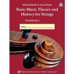 Basic Music Theory & History for Strings Book 1 - String Bass