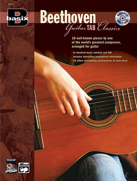 View larger image of Basix Guitar Tab Classics: Beethoven w/CD