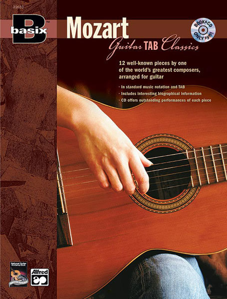 View larger image of Basix Guitar TAB Classics: Mozart w/CD