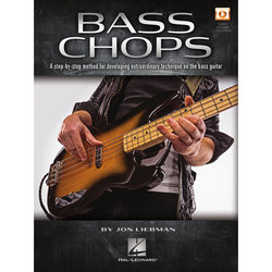 Bass Chops - A Step-by-Step Method for Developing Extraordinary Technique on the Bass Guitar w/Online Video