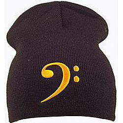 View larger image of Bass Clef Beanie - Black