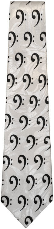View larger image of Bass Clef Tie