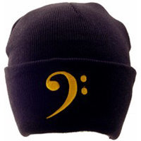 View larger image of Bass-Clef Winter Hat - Black