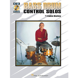 Bass Drum Control Solos w/CD