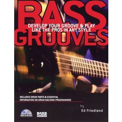 Bass Grooves w/CD