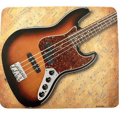 View larger image of Bass Guitar Mouse Pad