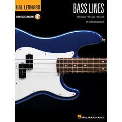 Bass Lines (Hal Leonard Bass Method) w/Online Audio