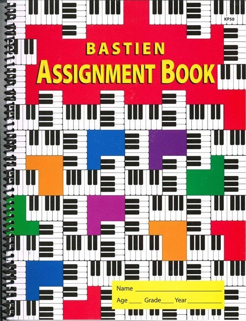 View larger image of Bastien Assignment Book