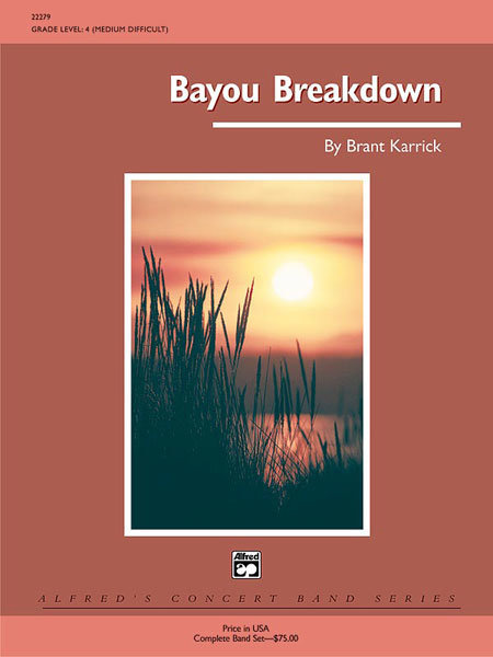 View larger image of Bayou Breakdown - Score & Parts, Grade 4