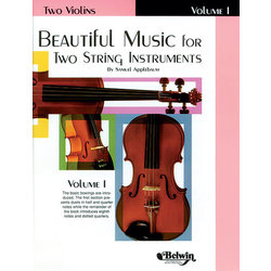 Beautiful Music for Two String Instruments, Book I - Two Violins