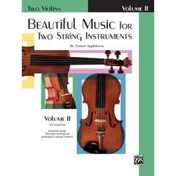 Beautiful Music for Two String Instruments - Vol 2 - Two Violins