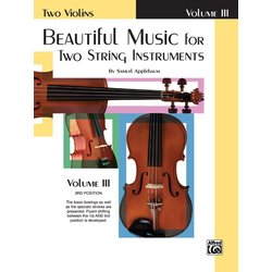 Beautiful Music for Two String Instruments - Vol 3 - Two Violins