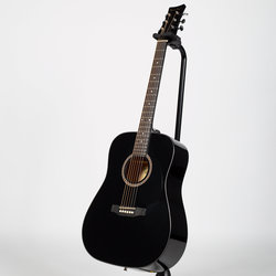 BeaverCreek BCTD101 Dreadnought Acoustic Guitar - Black