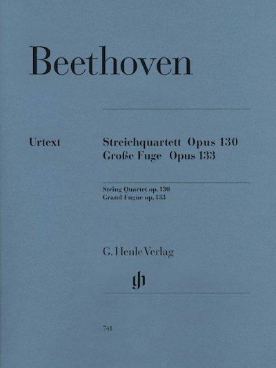 View larger image of Beethoven B-flat Maj Op.130 and Great Fugue Op.133 (String Quartet)