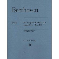 Beethoven B-flat Maj Op.130 and Great Fugue Op.133 (String Quartet)