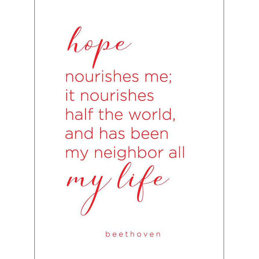 View larger image of Beethoven Quote Greeting Card