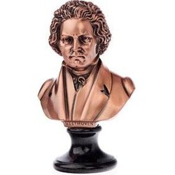 Beethoven Sculpture - Bronze, Large, 9x6