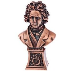 Beethoven Sculpture - Bronze, Medium