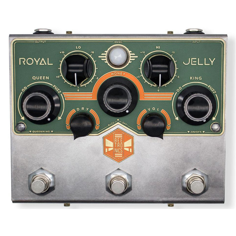 View larger image of Beetronics Royal Jelly Overdrive/Fuzz Pedal