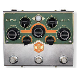 Beetronics Royal Jelly Overdrive/Fuzz Pedal