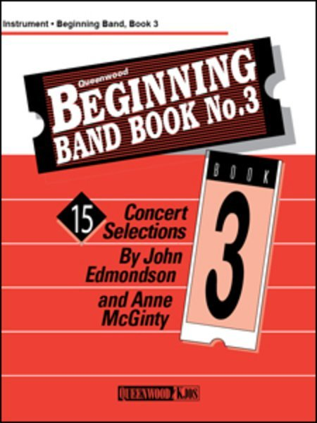 View larger image of Beginning Band Book No.3 Conductor/CD