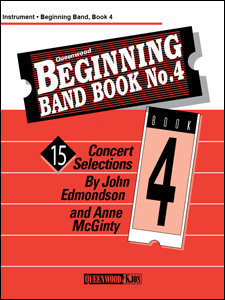 View larger image of Beginning Band Book No.4 - 1st Clarinet