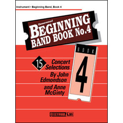 Beginning Band Book No.4 - Alto Sax                                         Beginning Band Book No.4 - Alto Sax