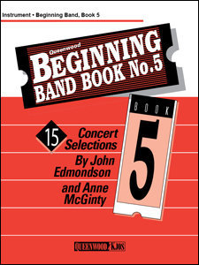 View larger image of Beginning Band Book No.5 - 1st Clarinet