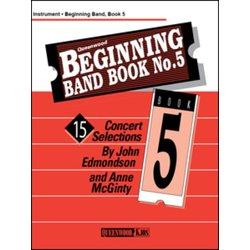 Beginning Band Book No.5 - Bass Clarinet