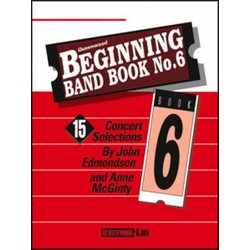 Beginning Band Book No.6 - Alto Sax