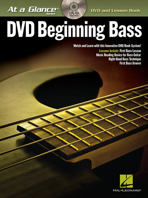 View larger image of Beginning Bass - At A Glance w/DVD