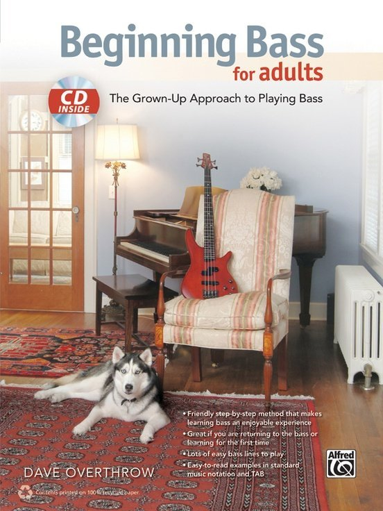 View larger image of Beginning Bass for Adults w/CD