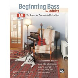 Beginning Bass for Adults w/CD