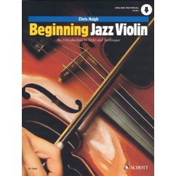 Beginning Jazz Violin - An Introduction to Style and Technique w/Online Audio