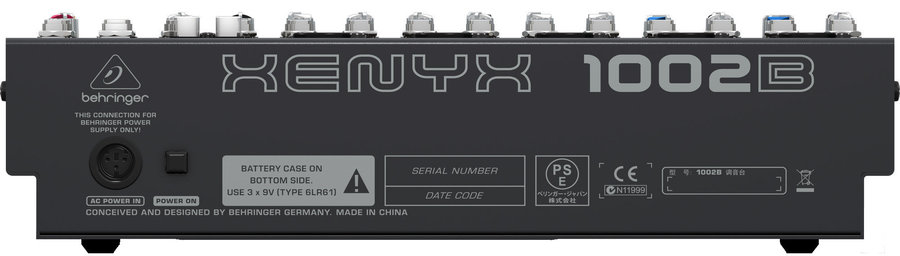 View larger image of Behringer Xenyx 1002B 8-Input 2-Bus Mixer