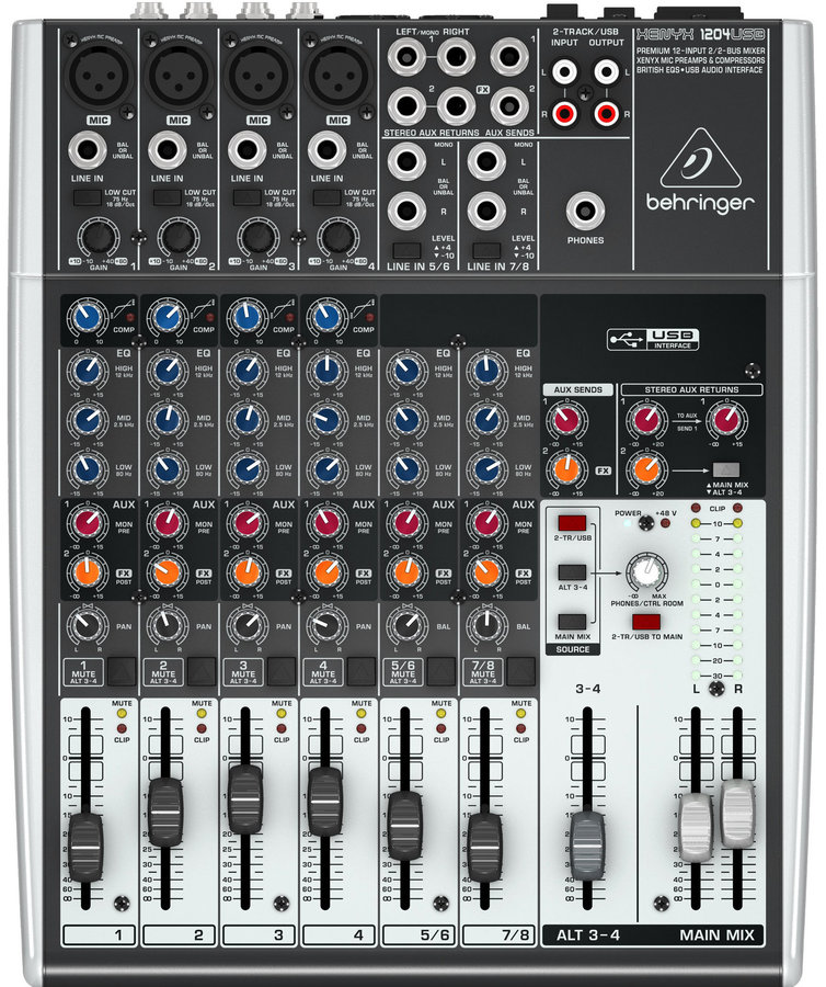 View larger image of Behringer 12-Input 2/2-Bus Mixer