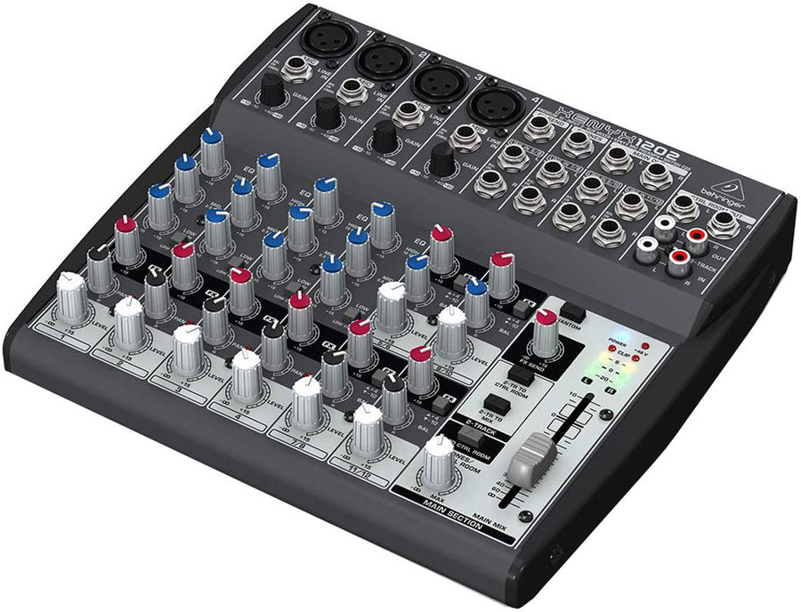 View larger image of Behringer 12-Input 2-Bus Mixer with XENYX Mic Preamps and British EQs