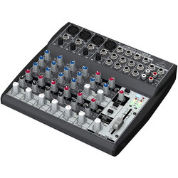 Behringer 12-Input 2-Bus Mixer with XENYX Mic Preamps and British EQs