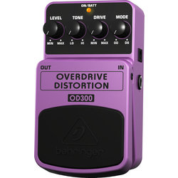 Behringer 2-Mode Overdrive/Distortion Pedal